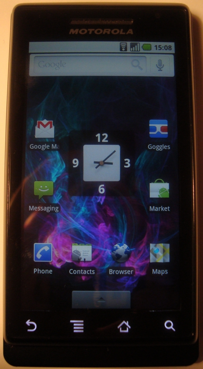 Motorola Milestone UK: First Impressions