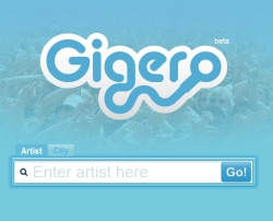 Apps for Spotify: Gigero