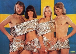 I loved ABBA, especially the blonde one.